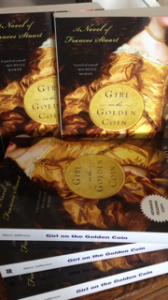 Advance Reader Copies of GIRL ON THE GOLDEN COIN