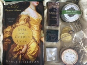 Girl on the Golden Coin Pear-Themed Gift Giveaway